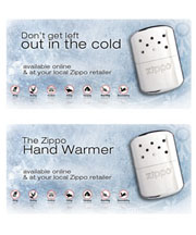 Hand Warmer Product Banner